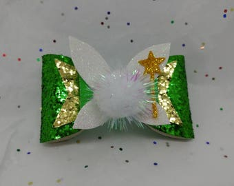 Tinkerbell inspired bow