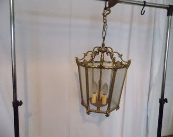 Vintage French Ceiling Lantern