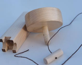 Wooden Spinning Top
