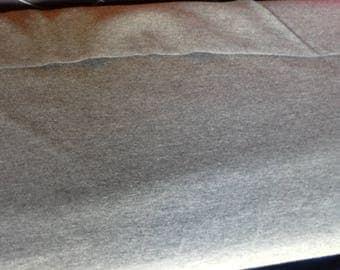 Dark grey melee jersey knit fabric, dark grey marl jersey, dark grey jersey fabric 4 way stretch fabric dark grey cotton lycra