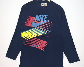 Rare!! Hot Item!! Vintage 90's Nike Air Short Sleeve Tshirt Size Large Very Good Condition Activewear Celebrity Fashion PrewbEnd