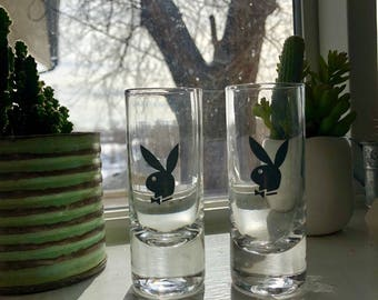 Playboy double shot glasses