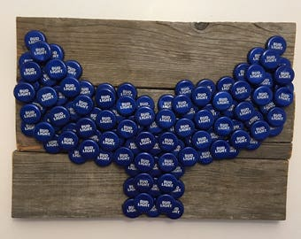 Bud Light Bottle Cap Whale Tail