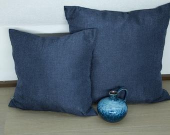 Pillow Case Blue, 40x40 cm