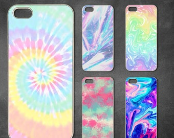 Tie dye iphone 7 case, iphone 7 plus case, iphone 8 case  iphone 6/6s , iphone 6s  case, iphone 6 plus, iphone x, 5/5s case, 5c case, 4/4s