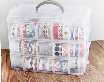 Washi Tape Storage , Washi Tape Organizer, Washi Tape  Storage Box