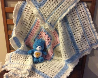 Babies first blanket and Teddy