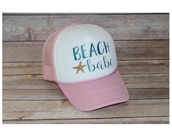 Beach Babe Adult Trucker Hat