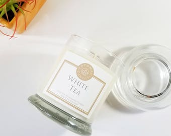 White Tea 12oz soy candle