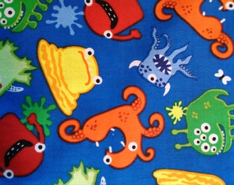 silly sea animals multi-color, kids, cartoons
