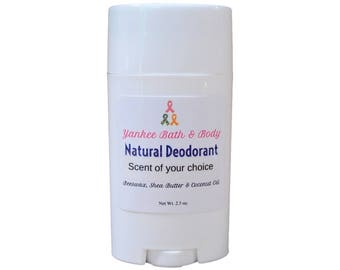 Sensual Amber Scented Natural Deodorant Free Shipping