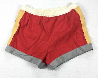 Vintage 80's Laguna Swim Trunks / Size Large
