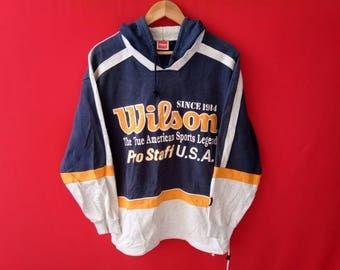 vintage wilson sport sweatshirt medium size