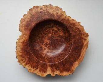 Australian Red Mallee Burl Bowl