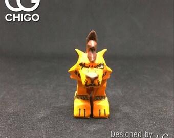 Chigo Lego custom moc minifigure FF7 Final Fantasy VII playful Brickart RedXIII