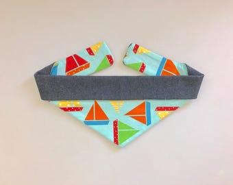 Take Me Sailing Reversible Bandana