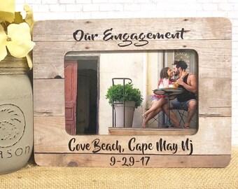 Engagement Frame| Engagement Gift| | Wedding Frame| Fiancé Frame| Engaged Frame| Engagement| 5x7 Picture Frame| 4x6 Picture Frame