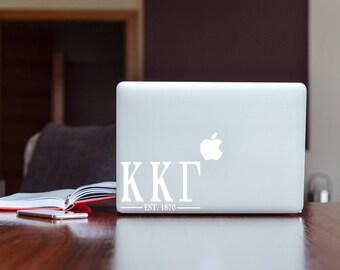 Kappa Kappa Gamma Sorority Macbook Sticker