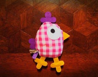 Pink chick plush/plushie