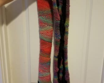 triangle tunisian scarf