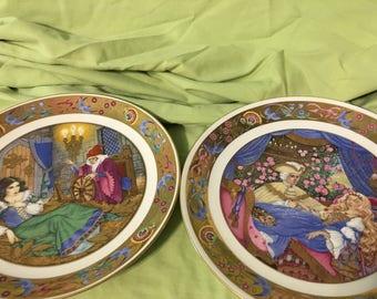 Vintage Fairytale plates