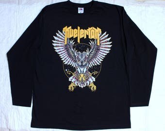 kvelertak robot owl norwegian metal turbonegro long sleeve t-shirt (s-xxl)