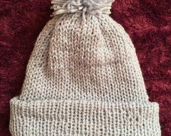 Wool winter hat