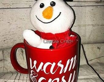 Warm and Cozy Coffee Mug   Winter Coffee Mug   Christmas Mug   Coffee Mug   Holiday Gift   Holiday Mug   Christmas Gift   Christmas Coffee