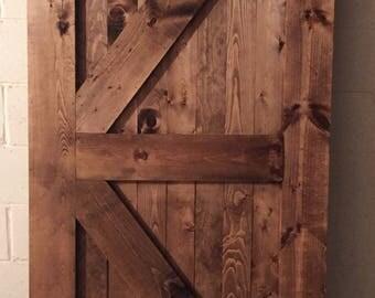 Custom Barn Door (LOCAL PICKUP ONLY)