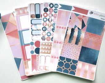 Storm - Erin Condren Vertical Weekly Kit