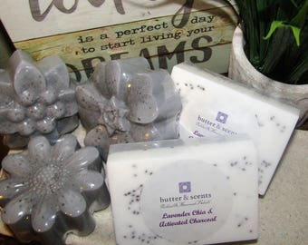 Lavender Chia & Activated Soap