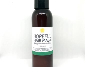 Natural Hair Mask with Argan Oil & Biotin