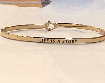 The inspired bangle ( life is story )