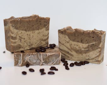 Cold Process Espresso Soap