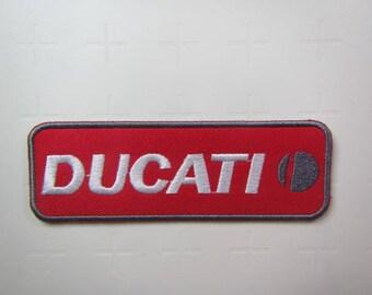 Ducati  -  Motorcycle – Motorbike – Volkswagen - Iron on Patch