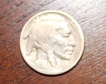 1924 Buffalo Nickel