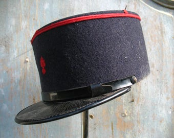 French fire brigade Cap, 1940s