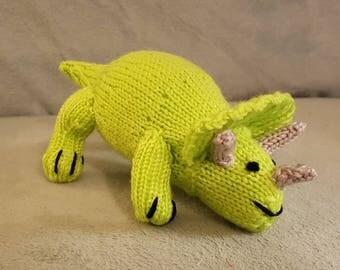 Cuddly Triceratops Dinosaur