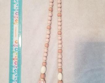 Light pastel color necklace