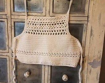 Hand Crocheted Halter Top