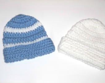 newborn boy hat, newborn hat, baby boy hat, boys hat, blue baby boy hat, baby shower gift, baby boy hat, baby boy winter hat, winter hat