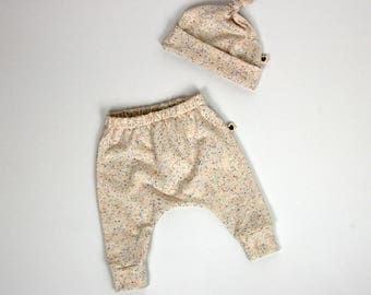 Baby gift set, speckles, baby clothes, gift for baby