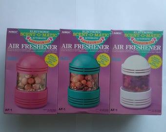 Alaron Electronic Scent-O-Matic Automatic Potpourri Air Freshener Three Set
