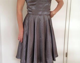 Circle skirt dress Santa Monica