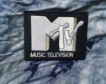 Vintage MTV Iron On Patch