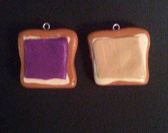 Peanut Butter & Jelly Best Friend Necklaces