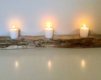 Lovely Driftwood Candle Holder, Home or Garden...