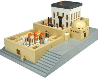 Holy Temple model - Made with Lego® brick from JBrick.com