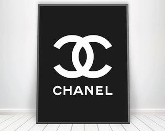 Chanel Poster * Scandinavian Wall Art Chanel Wall Art Made France Inspirational Chanel Beauty Prints Chanel Inspired Decor Chanel Home Decor