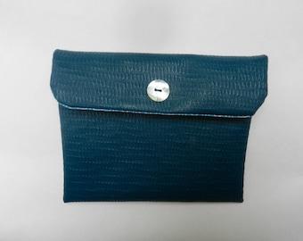 Bag faux leather wallet